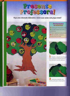 EDUCAÇÃO INFANTIL CRIATIVA: Modelo de chamadinha para Educação Infantil