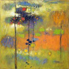 "Chasing the Dawn pastel on paper | 24 x 24"" | 2010 Rick Stevens Art"