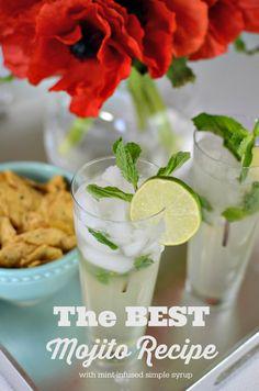 The Best Mojito Recipe via @J O-Lynne Shane