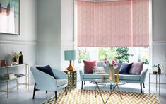 Bring a touch of elegance to your home with this year's most popular shade – blush pink. Go modern and luxe, urban and edgy or rustic and folksy with our range of made-to-measure blinds, curtains and shutters. Made To Measure Blinds, Classic Furniture, Blush, Curtains, Rustic, Interior Design, Modern, Room, Beauty
