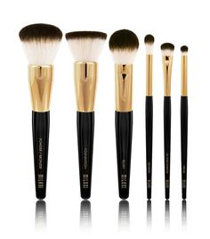 The Milani Makeup Brush Collection arrives for Spring 2016 with a selection of 6 synthetic makeup brushes that range in price from $8 to $16 as well as a c
