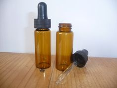 Two 10ml Amber Glass Bottles with Dropper Pipettes Wilson https://www.amazon.co.uk/dp/B00BDTN0K4/ref=cm_sw_r_pi_dp_x_YqS1xbD15HH04