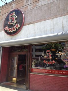 The Nickel Diner, as featured on MapMuse's Diners, Drive-Ins and Dives Locator app for the iPhone and Android.