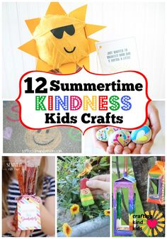 Summer Crafts For Kids, Summer Activities For Kids, Summer Kids, Diy For Kids, Kids Crafts, Cool Diy Projects, Projects For Kids, Craft Projects, Craft Ideas
