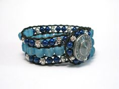A few more hours of free shipping on pieces like this cuff just listed in my Etsy shop! All for a great cause!!