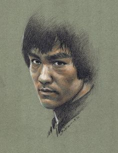 A Great Tribute to Bruce Lee Wow ! This is One Of the Best Bruce Lee Drawing I've ever seen.Love the Likeness. Arte Bruce Lee, Lee Movie, Marshal Arts, Legendary Dragons, Bruce Lee Quotes, Brandon Lee, Enter The Dragon, Little Dragon, Martial Artists