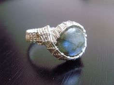 wire+wrapped+ring+tutorial   Cabochon Curves Wire Wrapped Ring Tutorial from Crossed Wires Jewelry ...