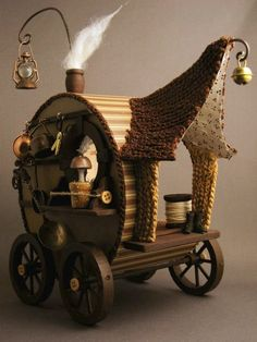 Pixie wagon ... what else would a fairy use?  ... By fairystudiokallies