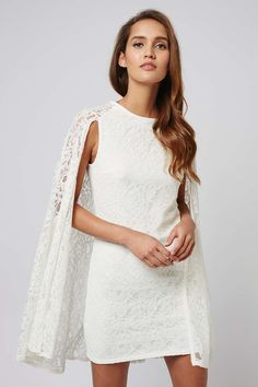 **Lace Shift Dress by Rare