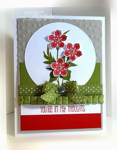 Petite Petals, Stampin' Up, Me, My Stamps and I