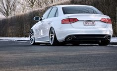 Audi. Nice stance. Well done.