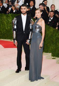 Gigi Hadid et Zayn Malik au Met ball 2016