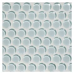 Glass Expressions Mosaic - Pale Blue - Clear