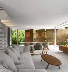 Modern Tropical Minimalist House by Studio MK27 - InteriorZine