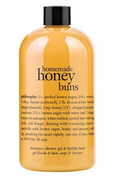 philosophy 'homemade honey buns' shampoo, shower gel & bubble bath available at #Nordstrom