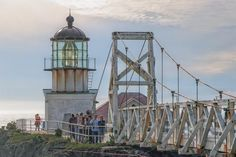 Gorgeous, lonely, stunning... You have to see these California lighthouse pictures: Point Bonita Lighthouse