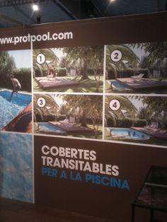 Soluzioni per coprire le piscine: anche in modo automatizzato. La cover del board di pinterest è quest'azienda qua.
