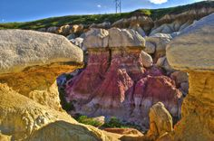 Paint Mines near Calhan, Colorado ~ my hometown!