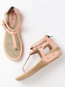 28237e4889c1 Mast   Harbour Women Peach-Coloured Textured Flatforms Fashion Online