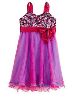 Multi-Color Embellished Dress | Party | Dresses | Shop Justice