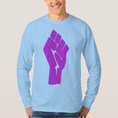 #feminist #tshirts - #Fem Revolution Fist Long Sleeve T-shirt