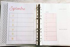 Mademoiselle Stef - Blog Mode, Dessin, Paris | Back to school : Agenda Septembre et Octobre à télécharger ! | http://www.mademoisellestef.com