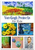 Top 10 Van Gogh Projects for Kids – Inspire your Heart with Art Day