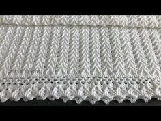 Crochet Baby Blanket Free Pattern, Baby Afghan Crochet, Afghan Crochet Patterns, Crochet Baby Hats, Easy Crochet, Baby Knitting, Kids Crochet, Booties Crochet, Baby Booties