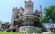 Of all the Gilded Age Victorians built along the Gulf Coast in Galveston, Texas, the Bishop's Palace remains the grandest—and not just because its steel and stone hulk survived the Great Storm of 1900. (Galveston Historical Foundation / David Canright)