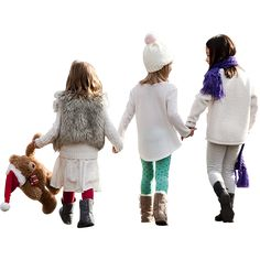 It's the holiday season and these kids are headed home with their winter clothes on.