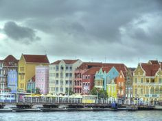 """Its name coming from the Portuguese word for """"heart,"""" Curacao was regarded by and century sailors as the """"Island of Healing. Portuguese Words, Willemstad, 17th Century, Island, Travel, Viajes, Islands, Destinations, Traveling"""