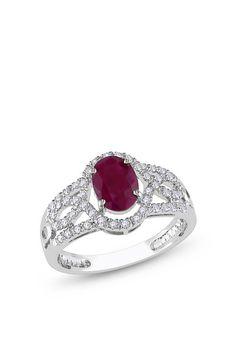 Pretty Ring! Birthstone ring