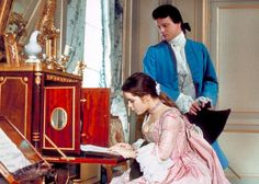"""Valmont - Before he was Mr. Darcy, Colin Firth was a decidedly less noble character in """"Valmont"""", a more light-hearted take on """"Dangerous Liaisons."""" I might have watched this movie a lot of times. A lot lot of times. Colin Firth, Period Movies, Period Dramas, Historical Costume, Historical Clothing, Fairuza Balk, Dangerous Liaisons, Roman, Cruel Intentions"""