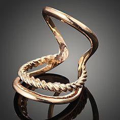 Wei Hua Elegant Fashion Gold-plating Ring