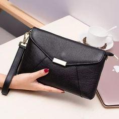 1ecb2dbd4d Retro Della Busta Pochette In Vera Pelle Frizione Della Signora Handbag  Messenger Borse Donna Super Eroe
