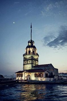 Maiden's Tower Istanbul.