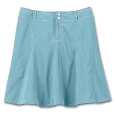 This is the perfect skort - looks just like a skirt, dries super fast, and has a somewhat detached pair of shorts underneath for trips to the amusement park and bike riding