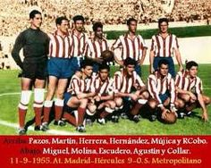 Foto Atletico de Madrid 1955/56