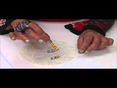 hour glass shape paper beads how to
