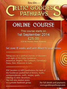 Online Celtic Goddess Pathways course