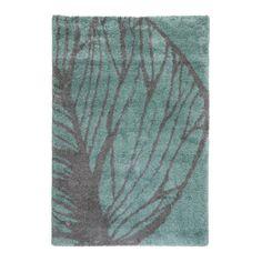 Vloerkleed (160x230 cm), Blauw/grijs