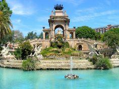 La Cascada in the Parc de la Ciutadella (Citadel Park) - Barcelona, Spain