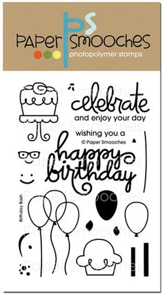 One of a kind, hand drawn images that are whimsical, unique and super fun to create with! Providing the best quality photopolymer clear stamps, outstanding customer service and so much more.           $14.99