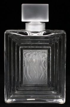 LALIQUE 'DUNCAN' CRYSTAL PERFUME