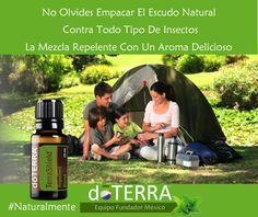 #Repelente natural #DoTERRA #Terrashield aleja a todos insectos de tu familia…