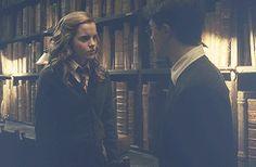Harry Potter & Hermione Granger ϟ - harry-potter Fan Art