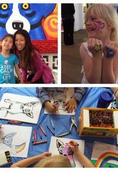 artshound.com   Rodrigue Houston Community Art Day