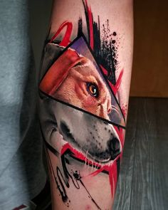 Dog tattoos for men done by tattoo artist Adrian Ciercoles Dog Tattoos, Animal Tattoos, Sexy Tattoos, Girl Tattoos, Tattoos For Women, Tattoos For Guys, Different Styles Of Tattoos, Small Tattoos With Meaning, Dog Portrait Tattoo