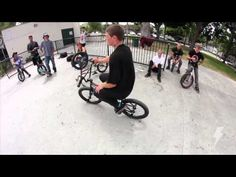BMX - STEVIE CHURCHILL CALI SKATEPARK SESSION - DAN´S BMX Video