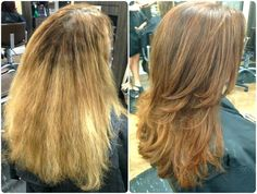 This guest was new to the area and was having a hard time finding a stylist who understood what she was looking for. After a thorough consultation with Cindy at New Identities Tampa Palms, she finally received the rich, dimensional color & soft, movable style she had been asking for!